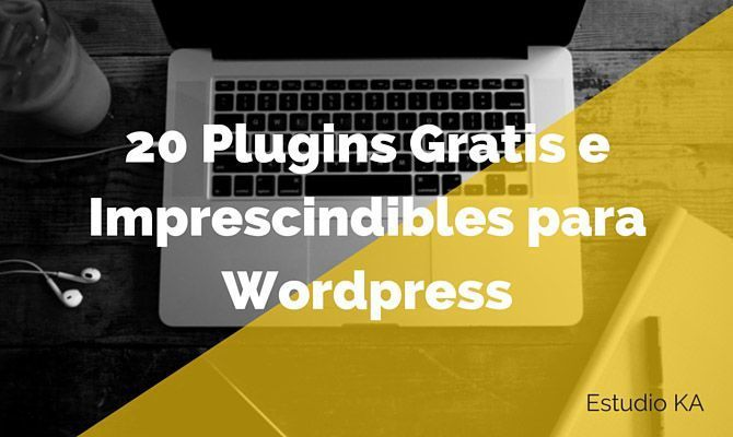 20 plugins gratis wordpress